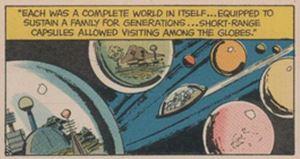 Space Conquerors Boy's Life Dec. 1965 panel