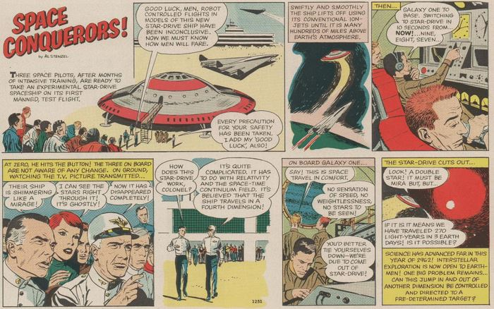 Space Conquerors Boy's Life Sept. 1962