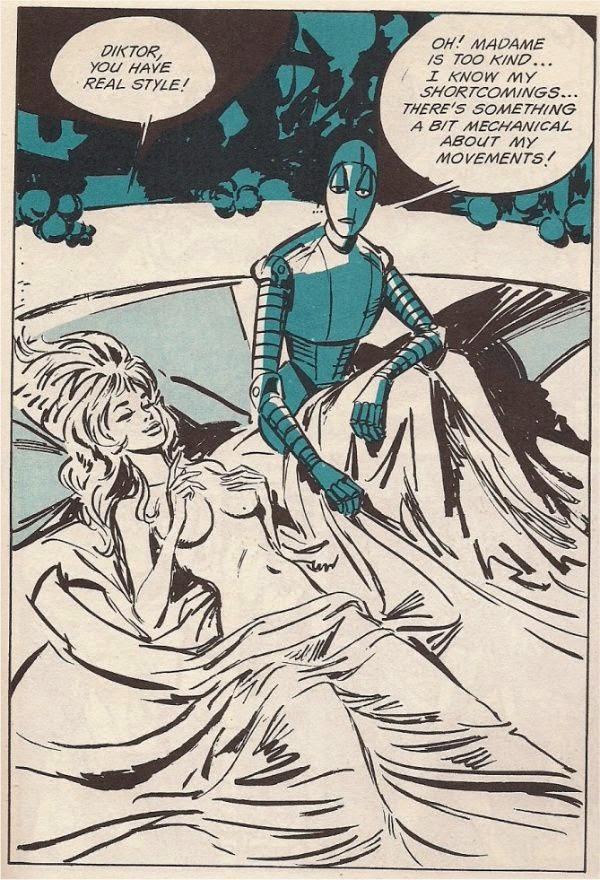 Diktor, Barbarella p. 53 panel