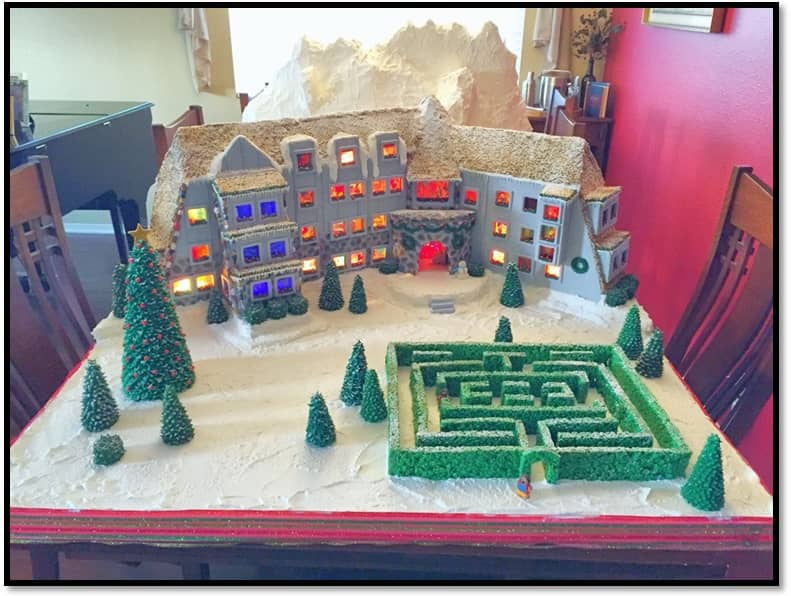 Gingerbread Overlook Hotel