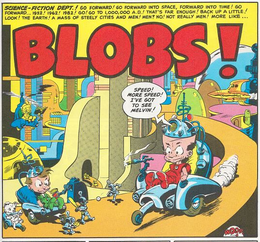 Mad #1 Blobs p1 panel