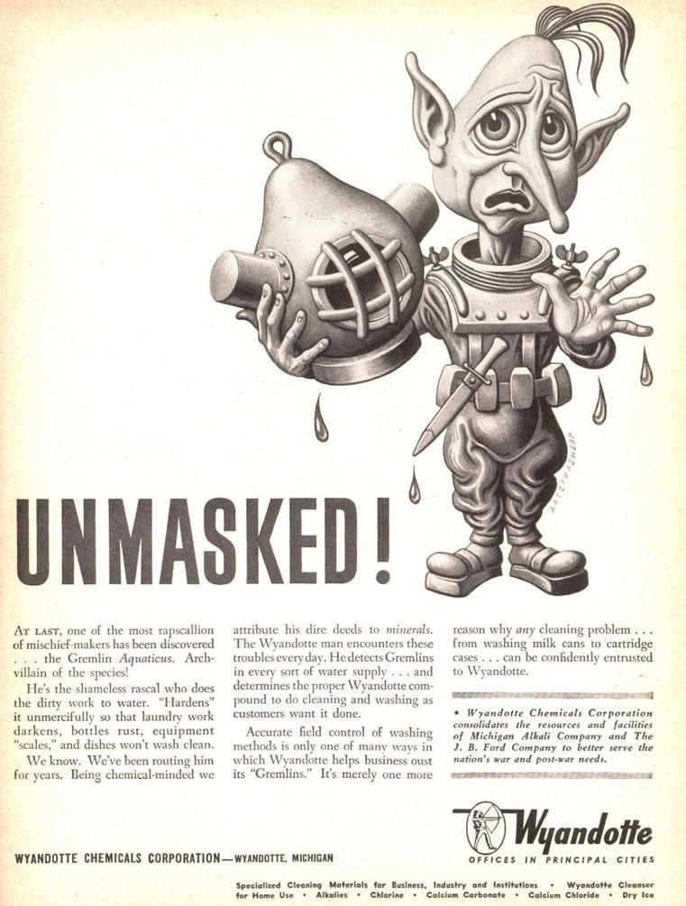 1943-04-05 Time 99 Wyandotte Artzybasheff Unmasked