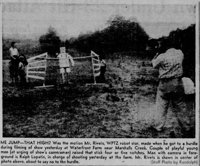 1955-08-04 Pocono [Stroudsburg PA] Record p.11 Mr. Rivets