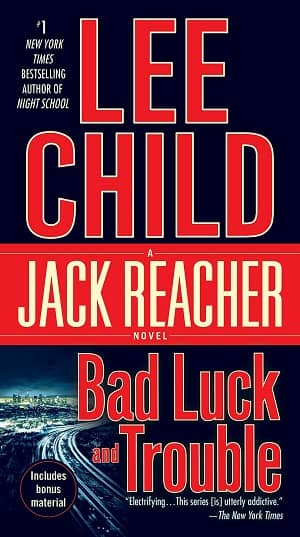 Bad Luck and Trouble Lee Child-small