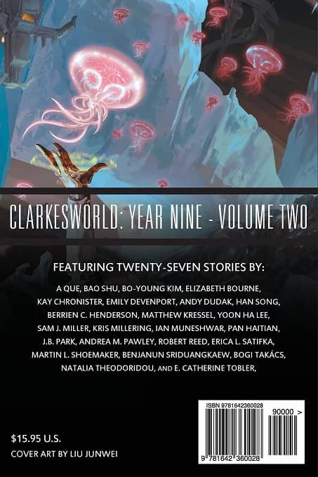 Clarkesworld Year Nine Volume Two-back-small