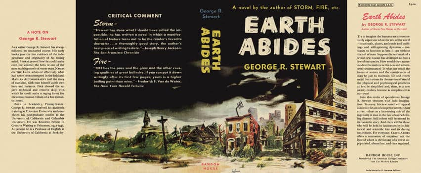 Earth Abides First Edition Dustjacket-small