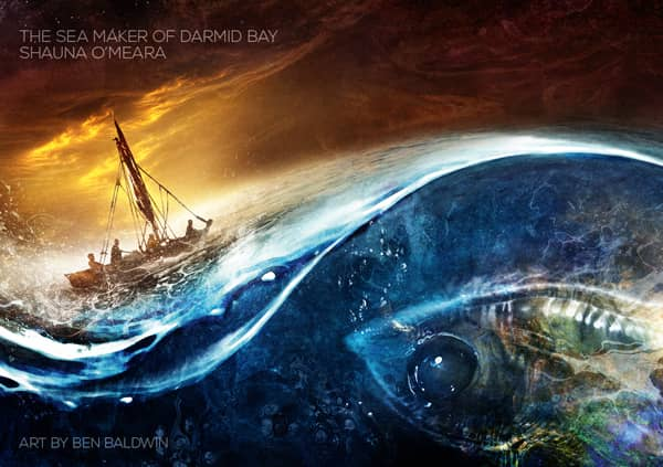 Interzone 277 The Sea Maker of Darmid Bay by Shauna O'Meara