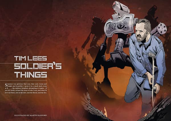 Interzone 278 Soldier's Things by Tim Lees