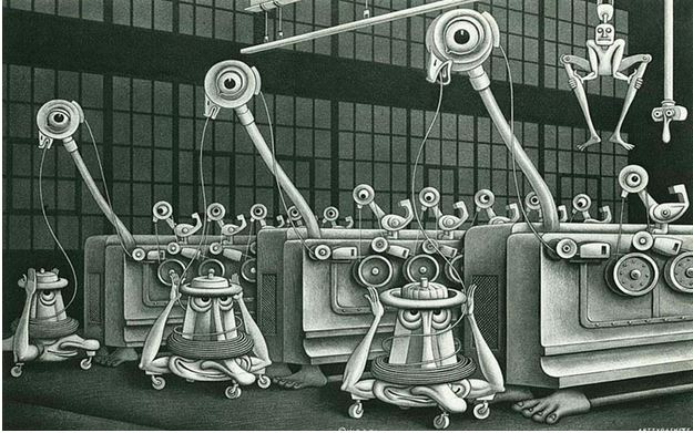 Machinalia, c1932, Boris Artzybasheff