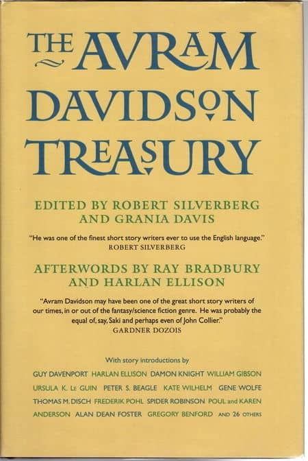 The Avram Davidson Treasury-small