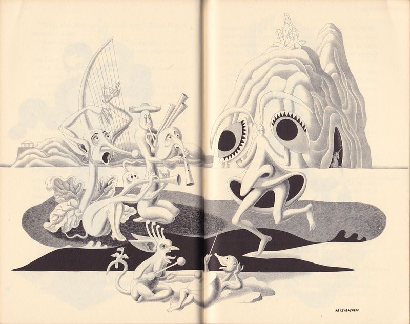 The Circus of Dr. Lao, 1935, illustrations by Boris Artzybasheff