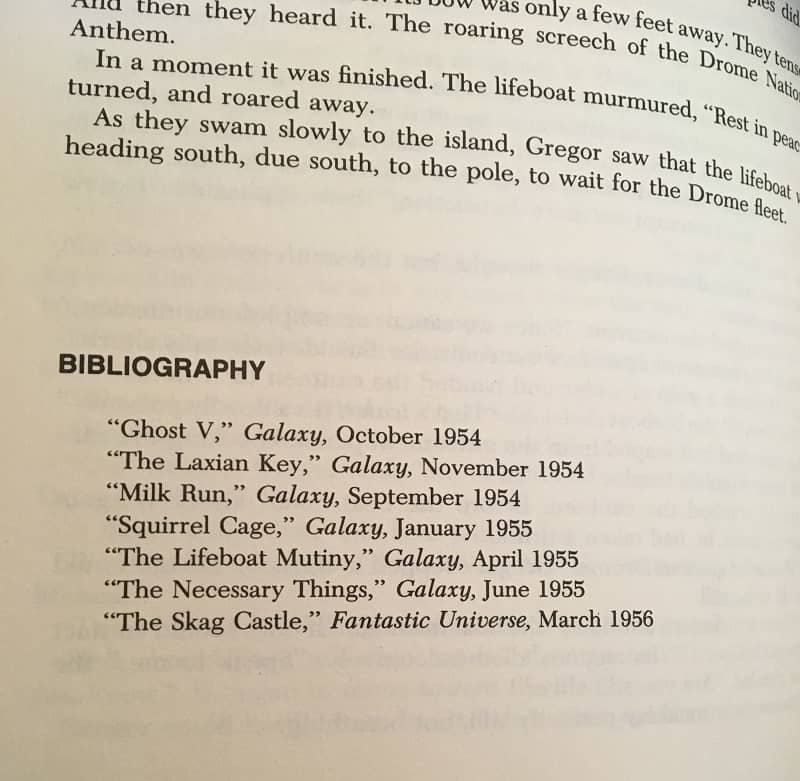 The Great Science FIction Series Pohl Greenberg Olander Robert Sheckley bibliography