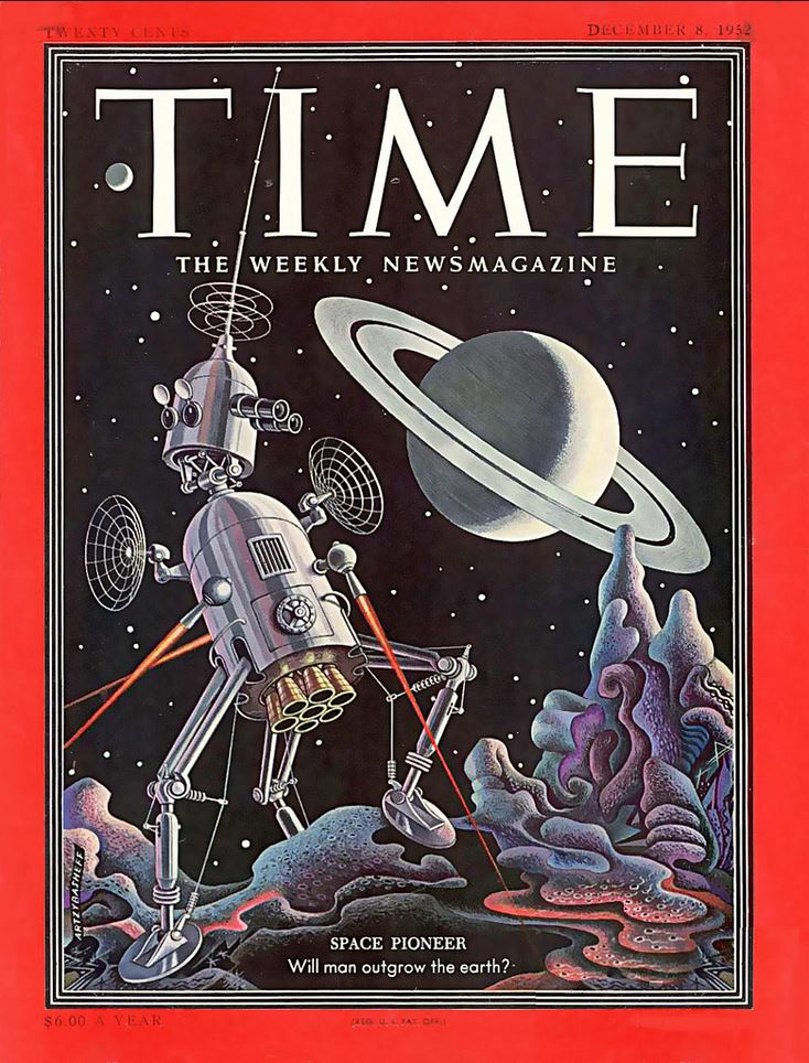 Time cover December 8, 1952, art by Boris Artzybasheff