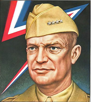 Time cover of Eisenhower, art by Boris Artzybasheff