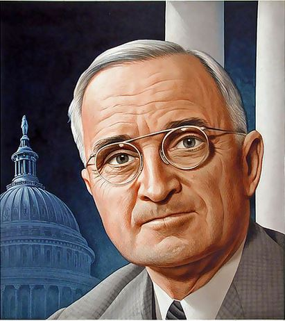 Time cover of Harry Truman, art by Boris Artzybasheff