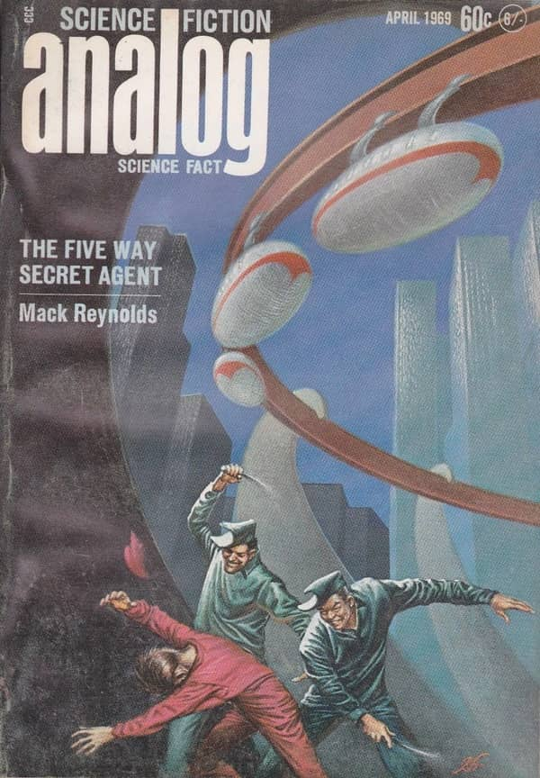 Analog April 1969 The Five Way Secret Agent Mack Reynolds-small