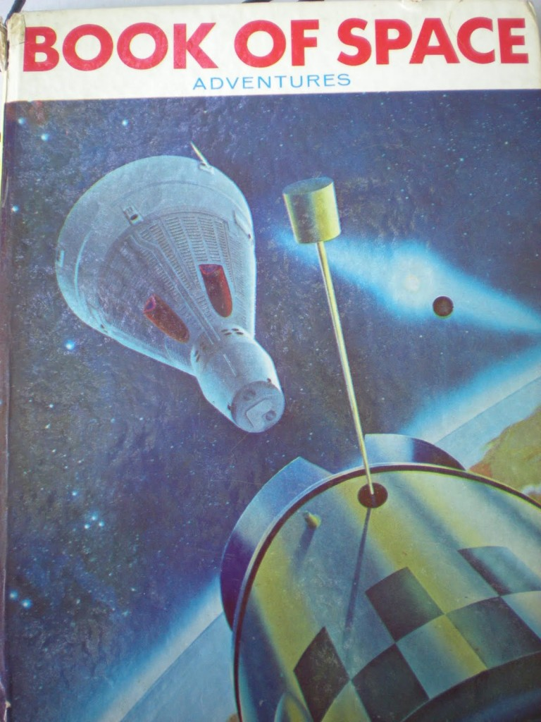 Book of Space Adventures 1965 cover