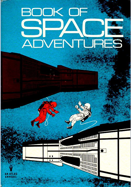 Book of Space Adventures 1966 cover
