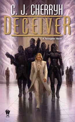 CJ Cherryh Foreigner 11 Deceiver-small