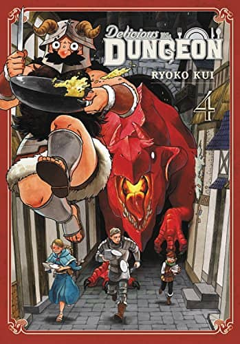 Delicious in Dungeon Volume Four-small