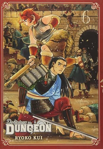 Delicious in Dungeon Volume Six-small