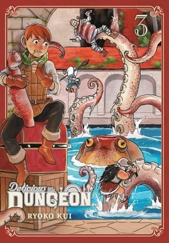 Delicious in Dungeon Volume Three-small
