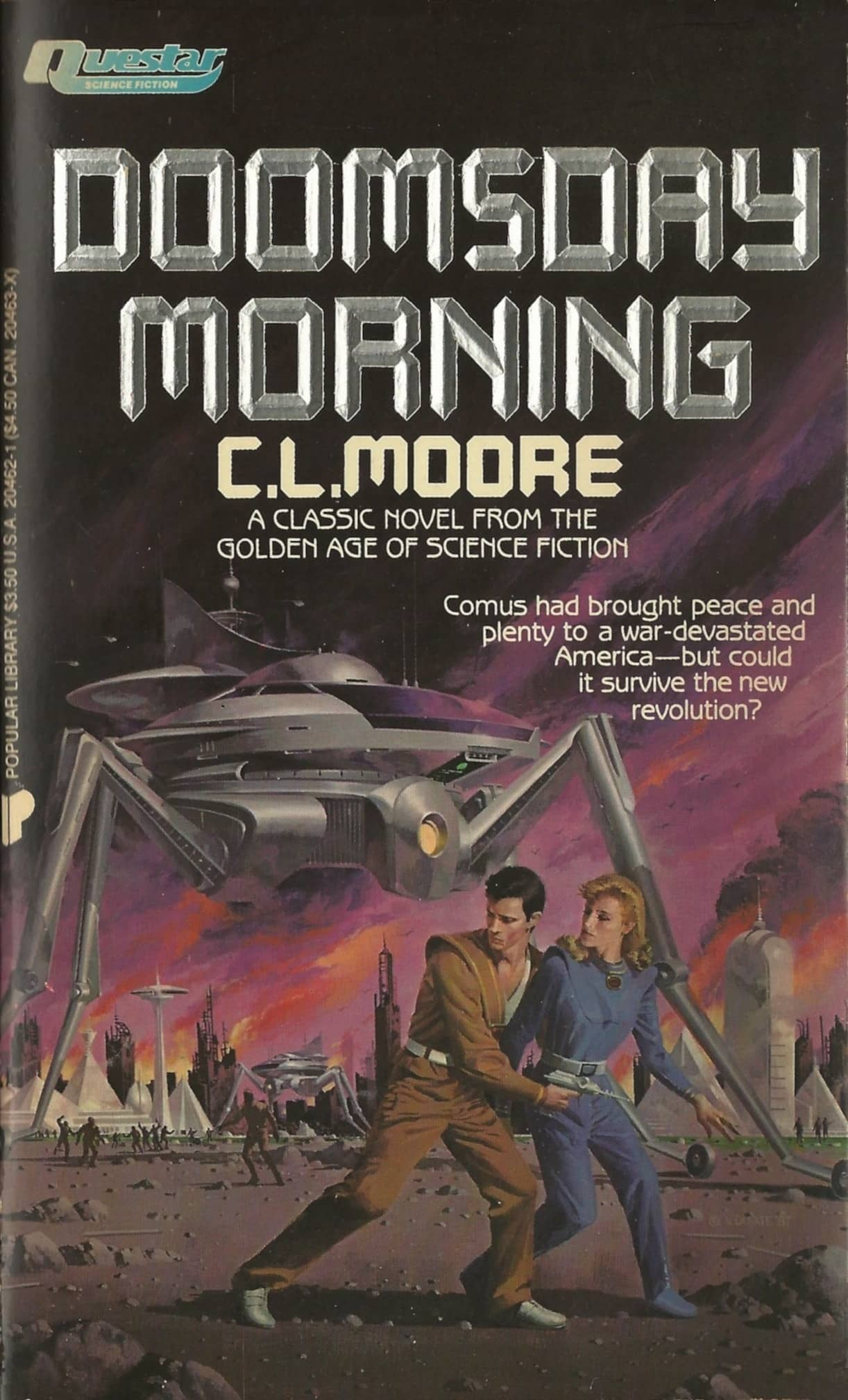 Vintage Treasures: Doomsday Morning by C.L. Moore