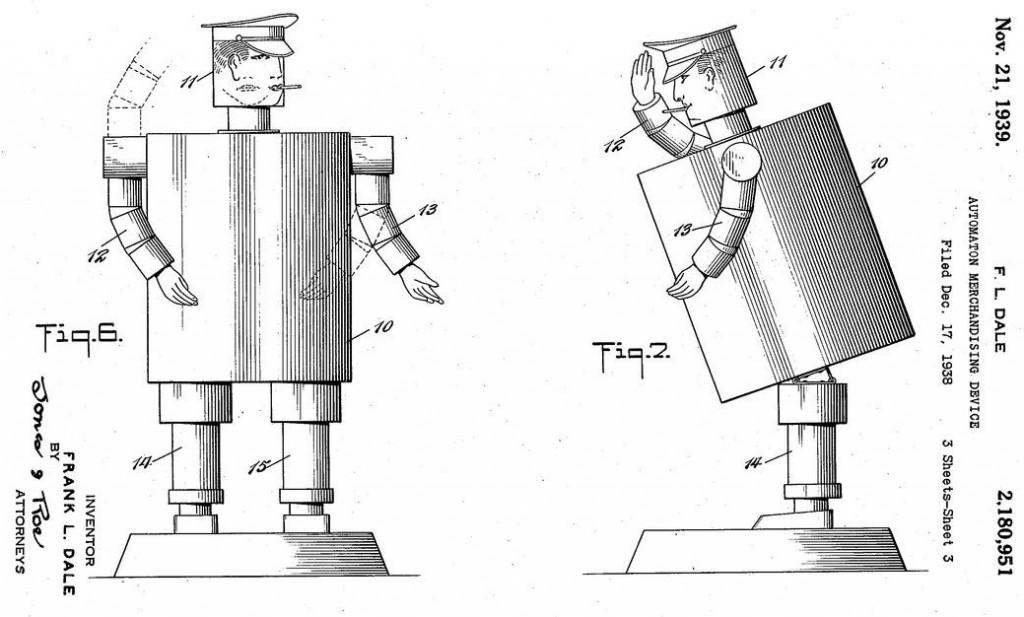Frank Dale patent 2,180,951 figure 3