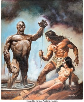 Val Mayerik - Savage Sword of Conan #22
