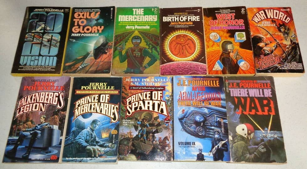 Jerry Pournelle books-small