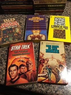 Lot of 40 Science Fiction Paperbacks $30 1-small