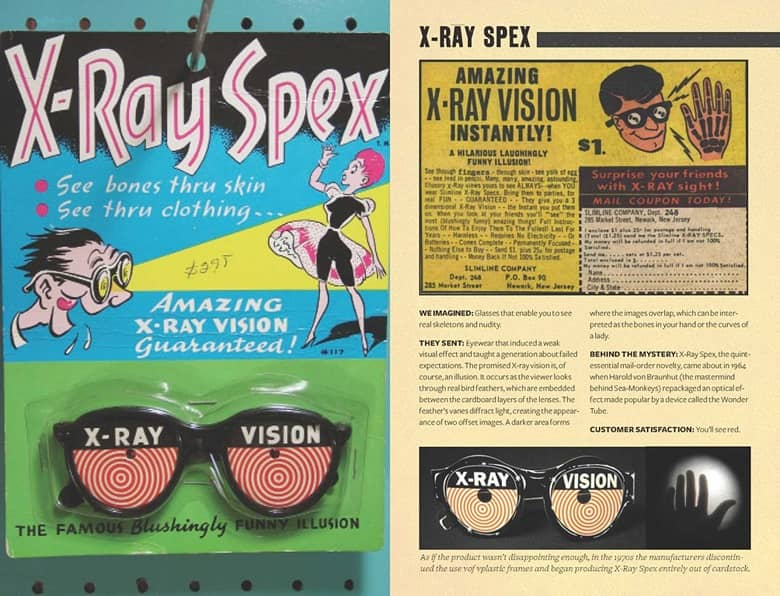 Mail-Order Mysteries X-Ray Specs-small