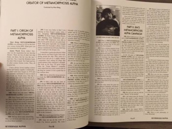 Metamorphosis Alpha reprint pages
