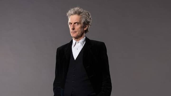 Peter Capaldi as the Doctor-small