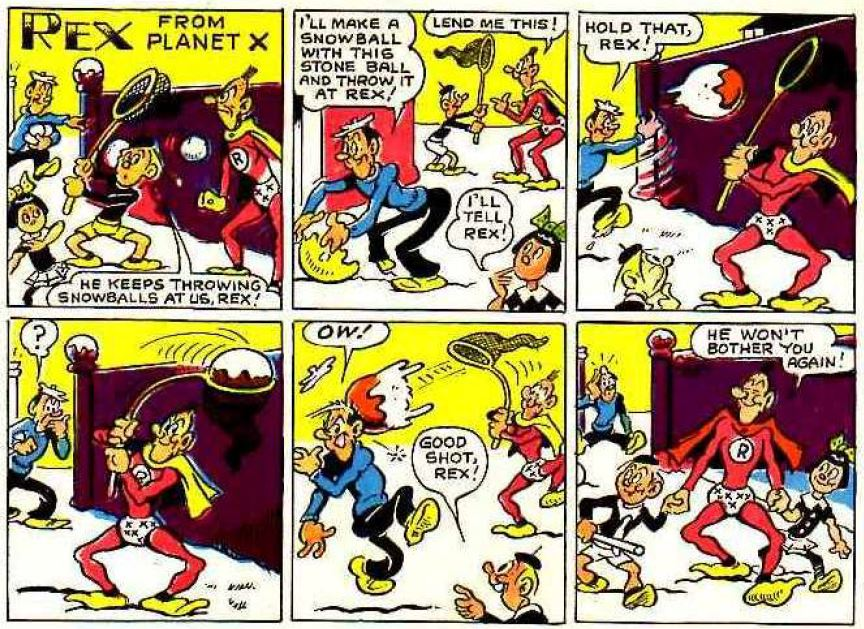 Rex from Planet X