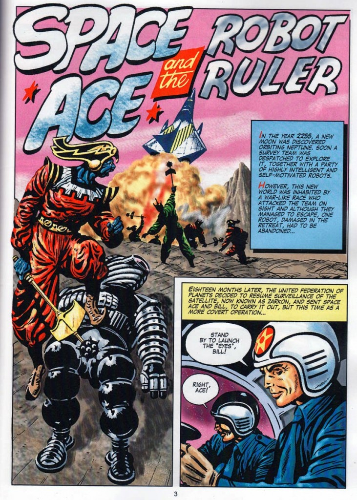 Space Ace and the Robot Ruler