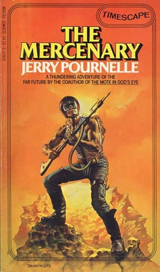 The Mercenary Jerry Pournelle-small