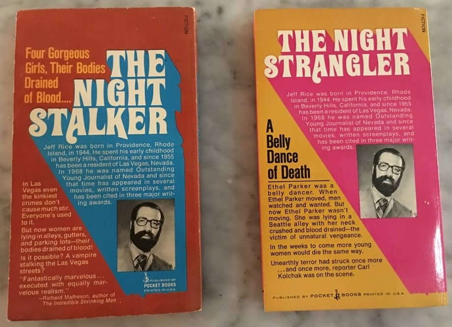 (3) The Night Stalker and The Night Strangler Jeff Rice-back-small