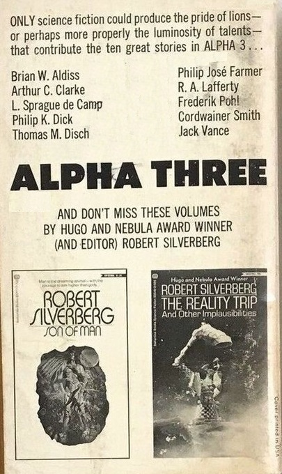 Alpha 3 Robert Silverberg-back-small