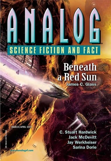 Analog Science Fiction and Fact March April 2019-small