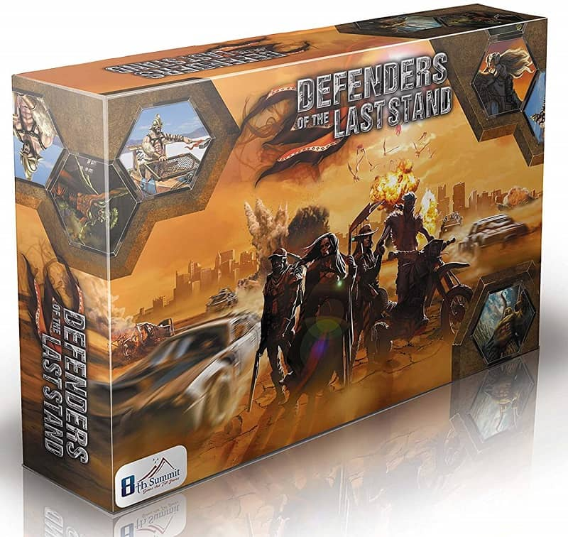 Defenders Of The Last Stand Board Game-small