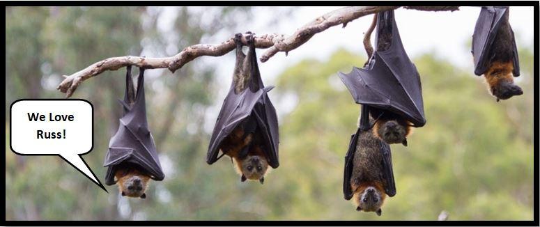 Goth Chick Five Bat Award