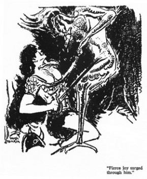 Hugh Rankin, who illustrated both Weird Tales issues