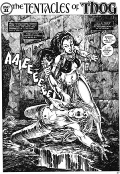 John Buscsema - Savage Sword of Conan - Issue #20