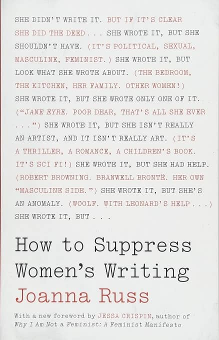 How to Suppress Women's Writing-small