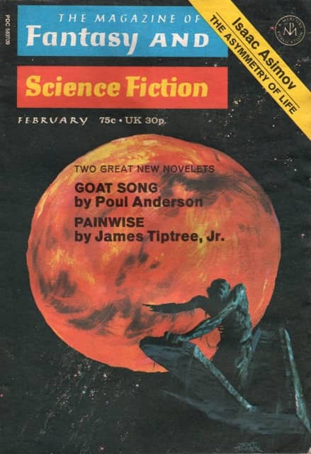 Magazine of Fantasy and Science Fiction February 1972-small