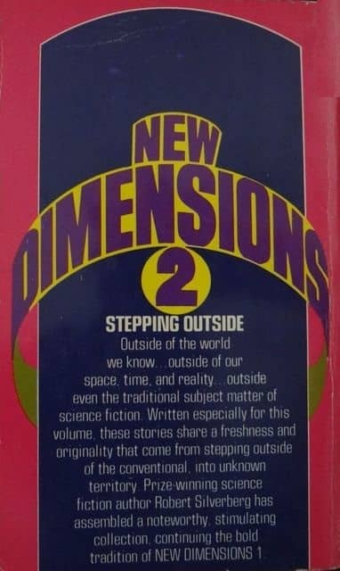 New DImensions 2 Robert Silverberg-back-small