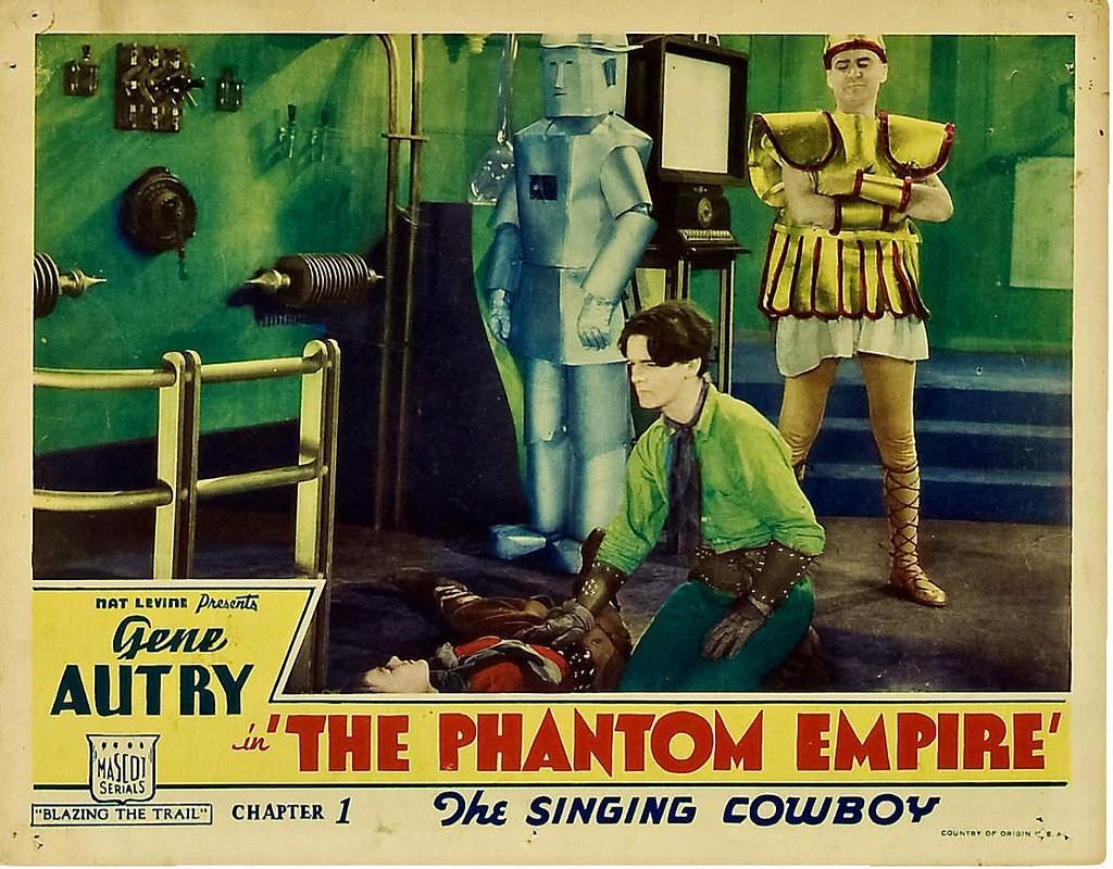 Phantom Empire lobby card 1935