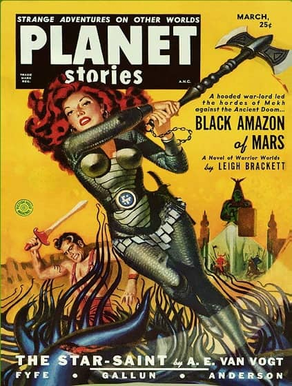 Planet Stories Black Amazon of Mars-small