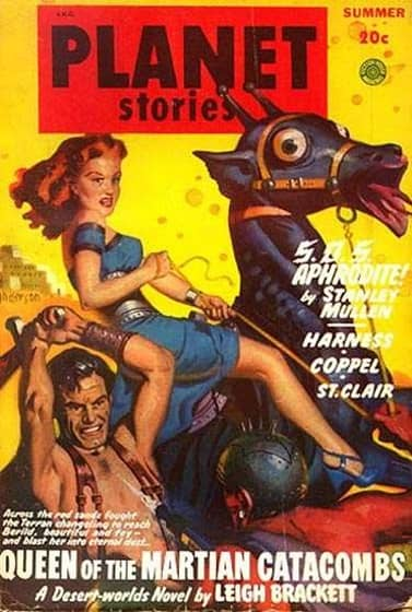 Planet Stories Queen of the Martian Catacombs-small